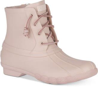 Sperry Women's Saltwater Flood Duck Booties Women's Shoes