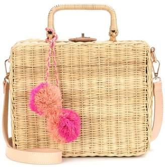 Kayu Exclusive to mytheresa.com – Valentina straw shoulder bag