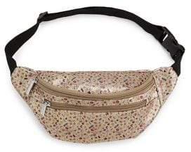 Girl's Glitter Emoji Waist Bag