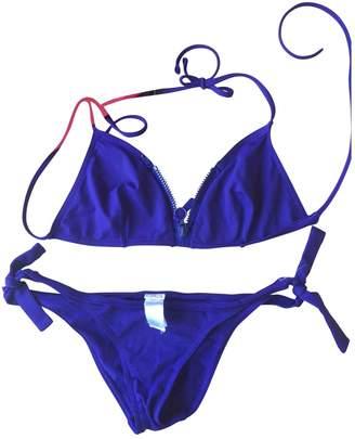 Eres Purple Cotton - elasthane Swimwear for Women