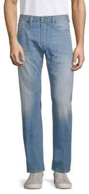 Diesel Larkee Straight-Leg Cotton Jeans