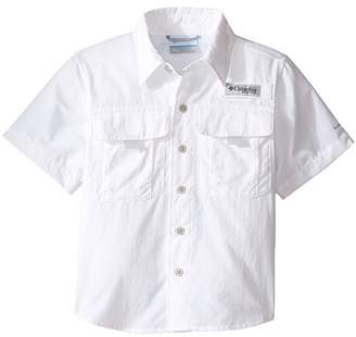 Columbia Kids Bahama Short Sleeve Shirt Boy's Short Sleeve Button Up
