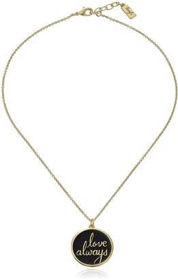 Michael Kors Foxy Originals Inc. Foxy Originals RSVP Love Always Necklace, Gold