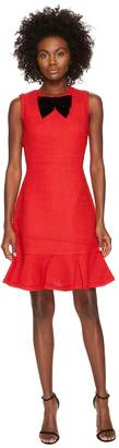 Kate Spade Ruffle Tweed Dress Women's Dress