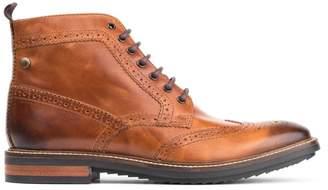 Base London Hopkins Leather Wingtip Boot
