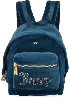Juicy Couture New Mini Velour Backpack