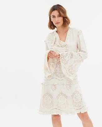 Maison Scotch Eyelet Suit Dress