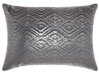 Mina Victory Metallic Diamonds Accent Pillow