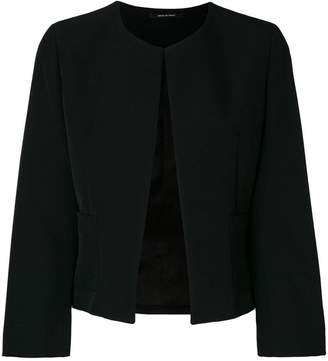Tagliatore Lucy collarless jacket