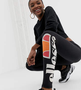 Ellesse Leggings With Leg Logo Print