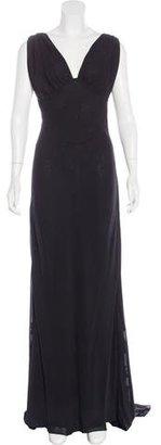 Vera Wang Silk Chiffon Dress $200 thestylecure.com