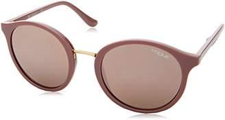 Ray-Ban Women's Plastic Woman Non-Polarized Iridium Round Sunglasses