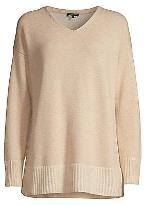 Lafayette 148 New York Women's Cashmere V-Neck Sweater