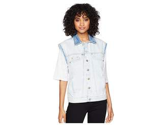 7 For All Mankind Oversize Vest Women's Vest