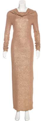 Walk of Shame Metallic Off-The-Shoulder Dress