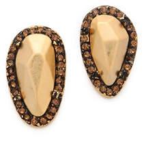 House Of Harlow Rif Pebble Stud Earrings