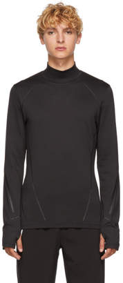 BLACKBARRETT by NEIL BARRETT Black Compression Long Sleeve T-Shirt