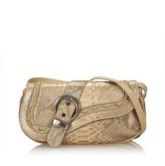 Christian Dior Vintage Python Leather Gaucho