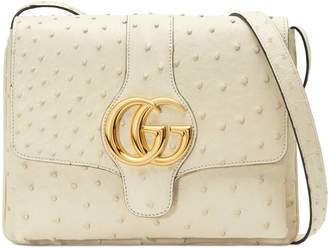 Gucci Arli ostrich medium shoulder bag