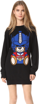 Moschino Transformers Bear Sweater Dress $695 thestylecure.com