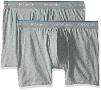 Columbia Men's Cotton Stretch 2 PK Boxer Brief