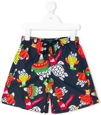 Vilebrequin Kids Jim Jam printed swim shorts