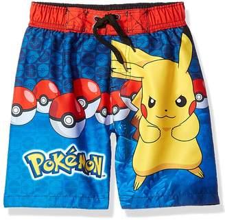 Pokemon Pikachu Boys Swim Trunks Swimwear (Little Kid/Big Kid)