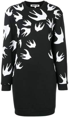 McQ sparrow knit jumper dress