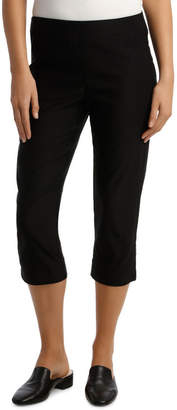 Essential Stretch Crop Pant Black