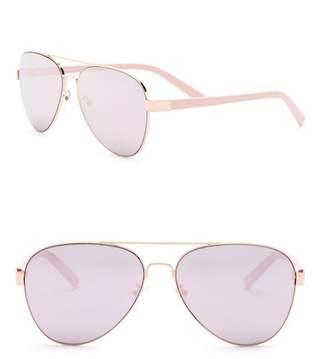 Joe's Jeans Women's Aviator 59mm Sunglasses