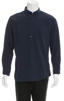 Melindagloss Melinda Gloss Ribbed Button-Up Shirt