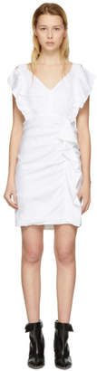 Etoile Isabel Marant White Topaz Dress