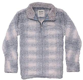 True Grit Dylan by Women's Frosty Tipped Stadium Pullover with Pockets
