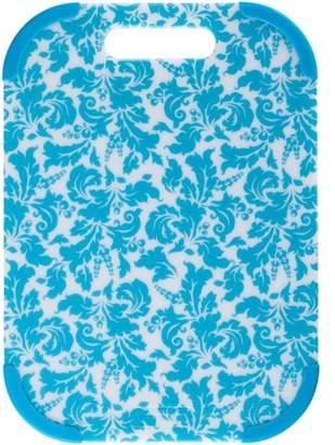 Farberware Colourworks 10 Inch X 14 Inch Damask Poly Cutting Board