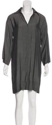 Natori Long Sleeve Shirt Dress
