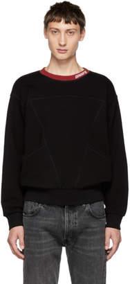 Givenchy Black Contrast Logo Sweatshirt