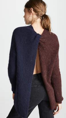 Nicholas Alpaca Tunic Pullover Sweater
