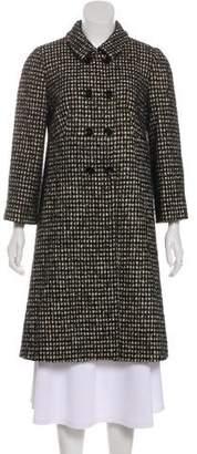 Dolce & Gabbana Wool-Blend Long Coat