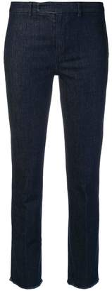 Max Mara 'S raw hem jeans