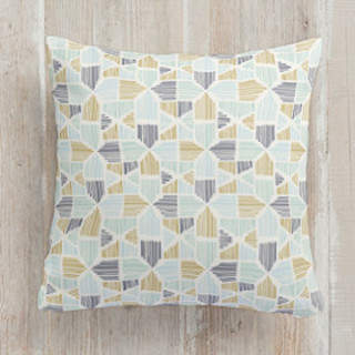Piped Square Pillow