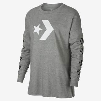 Converse Star Chevron Womens Long Sleeve T-Shirt