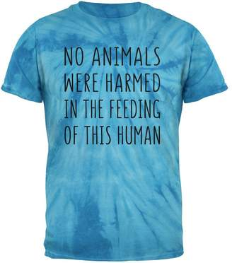 Old Glory Activist No Animals were Harmed in The Feeding of This Human Mens T Shirt Pinwheel Tie Dye X-LG