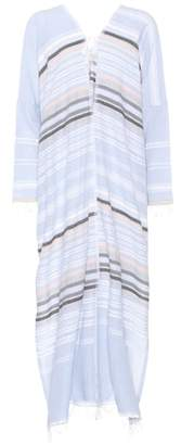 Lemlem Cotton-blend striped dress