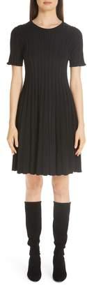 Lafayette 148 New York Metropolitan Shine Structured Rib Dress