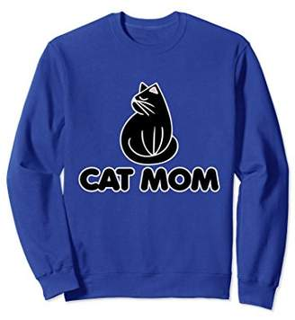 Cat Mom sweatshirt carts mom crazy cat lady