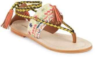 Antik Batik Women's Tarata Tasseled Sandals