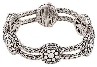 John Hardy Six-Station Dot Bracelet