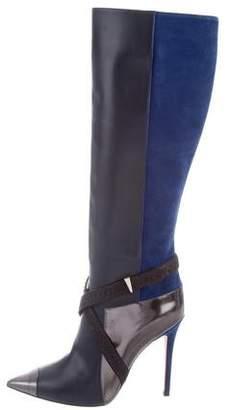 Prabal Gurung Leather Cap-Toe Boots