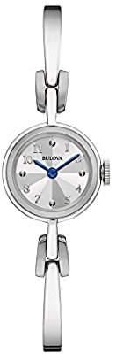 Bulova Women's Quartz Stainless Steel Dress Watch (Model: 96L222) $199 thestylecure.com