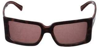 Etro Tortoiseshell Rectangular Sunglasses